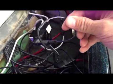 wiring led strips lighting  ranger bass boat youtube