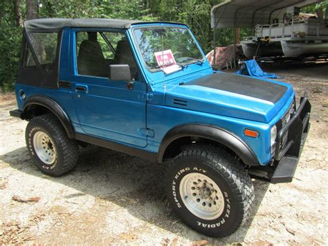 Suzuki Samuri For Sale by 1988 Suzuki Samurai Soft Top For Sale In Springs Arkansas