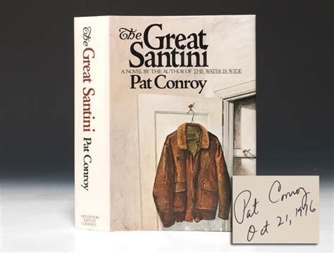 pat conroy great santini edition signed bauman books