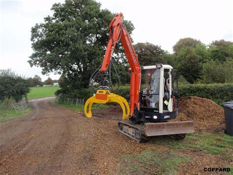 excavator attachments  coppard plant hire  tel