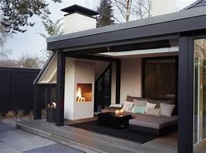 Feuerstelle Für Terrasse : offene feuerstelle 25 zeitgen ssische designs ~ Frokenaadalensverden.com Haus und Dekorationen