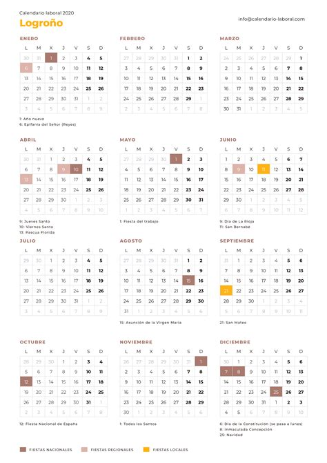 calendario laboral logrono calendario laboral