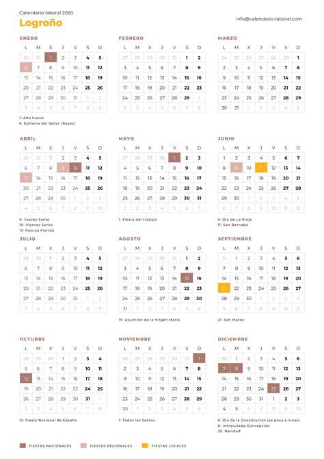 calendario laboral logrono calendario laboral