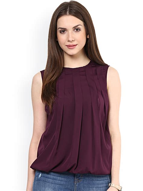 15 Latest Styles In Sleeveless Tops For Women  Styles At Life