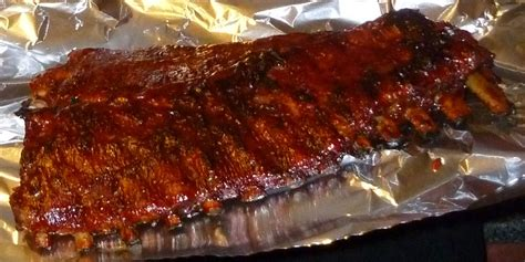 grill ribs bbq ribs on the grill recipe dishmaps