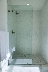 Fixed Glass Shower Partition