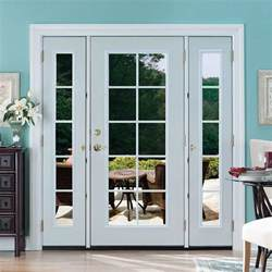 Masonite Patio Doors With Sidelites by Masonite 72 In X 80 In Prehung Right Inswing 10