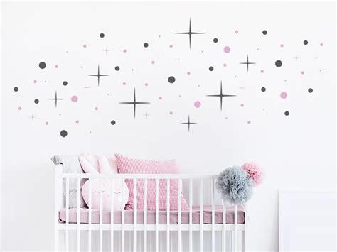 Wandtattoo Kinderzimmer Sternenhimmel by Wandtattoo Zweifarbiger Sternenhimmel Wandtattoos De