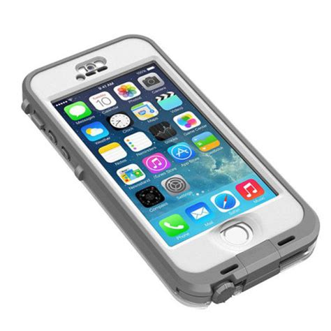 iphone 5s lifeproof lifeproof nuud for iphone 5s white grey