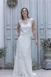 robe boheme mariage le de robe de mariée laporte 2014 collection boheme chic modèle emilienne