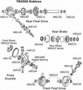 Honda Trx500 Parts Diagram