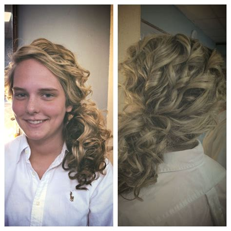 Fancy Side Ponytail Hairstyles by Prom Hair Side Ponytail Curled With A Wand Hairstyles