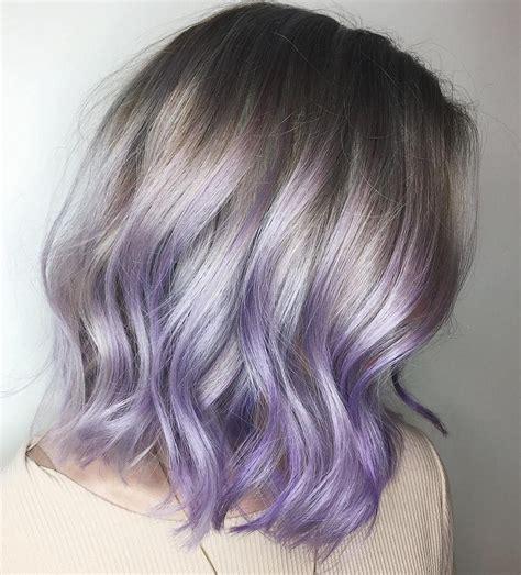 The Prettiest Pastel Purple Hair Ideas In 2019 Hair