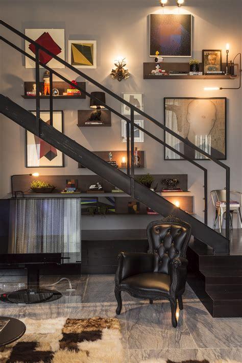 Artful Loft Apartment Design Ideas by Floor To Ceiling Wall 6 Interior Design Ideas