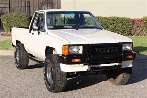 California Original, 1986 Toyota Pickup 4x4 Xtra Cab, 100