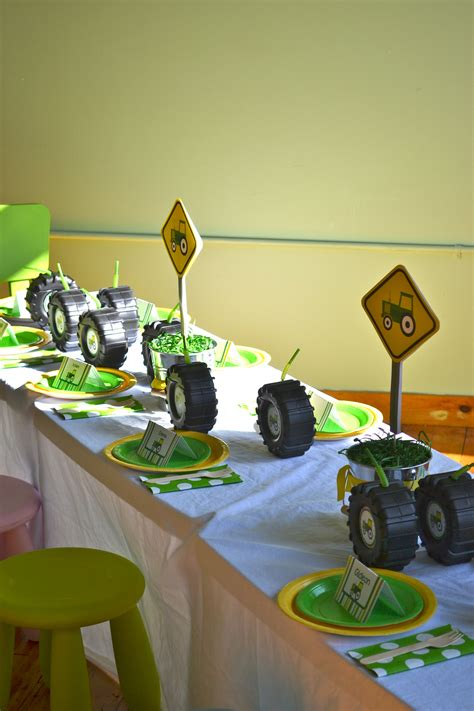 John Deere Tractor Party Justine Pocock Wilson Perhaps