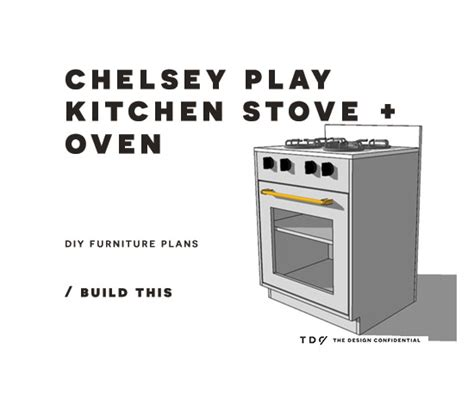 diy furniture plans   build  chelsey play kitchen
