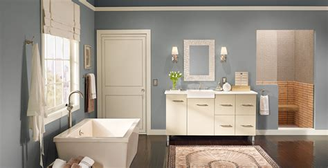 urban bathroom relaxed and calming bathroom gallery behr