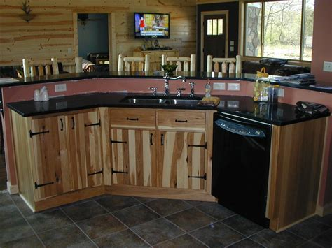 hickory kitchen cabinets handmade hickory kitchen and utility cabinets by the plane 6726