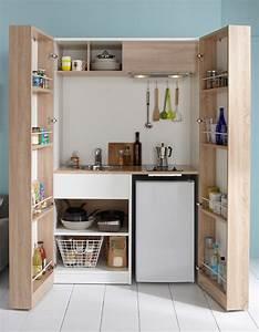 toutes nos astuces deco pour amenager une petite cuisine With amenager une toute petite cuisine