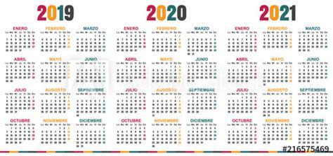 spanish planning calendar   week starts  monday simple calendar template