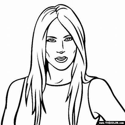 Trump Donald Coloring Pages Melania Face President