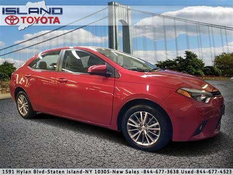 2014 Toyota Corolla Le Plus by Pre Owned 2014 Toyota Corolla Le Plus Sedan In Staten