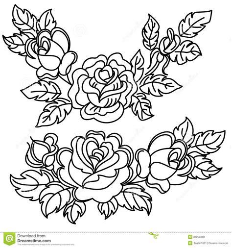 rose black  white drawing  getdrawings