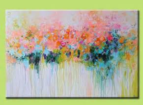 Acrylic Painting Abstract Flower Art