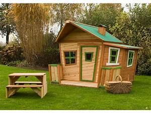 Cabane En Bois De Jardin : cabane de jardin en bois enfant ~ Dailycaller-alerts.com Idées de Décoration