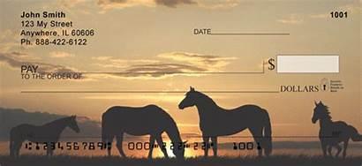 Checks Horses Western Sunset Designs Personal Southwest