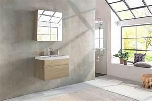 Badmöbel Set Holzoptik : sam badm bel set 2tlg waschtisch 80 cm sonomaeiche holzoptik parma ~ Watch28wear.com Haus und Dekorationen