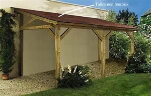 Wooden Plan de construction d'un carport en bois Plans PDF