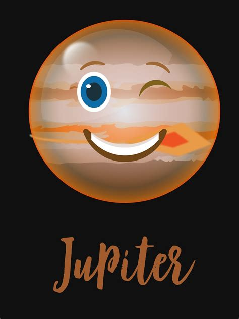 cartoon planet jupiter space science  shirt funny