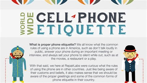 Don't Speak Loudly! - Cellphone Etiquette Around the World