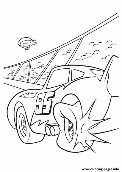 Mcqueen Lightning Cars Drawing Coloring Pages Printable