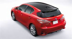 Lexus CT200h: facelifted hybrid hatchback unveiled in