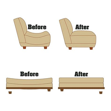 Settee Supports by 6pcs Savers Sagging Sofa Chair Cushion Support