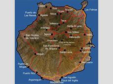 Gran Canaria Map GranCanariaInfocouk