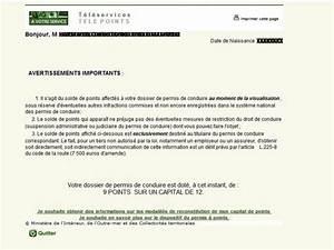 Numero De Permis De Conduire : conna tre le capital de points de son permis de conduire ~ Medecine-chirurgie-esthetiques.com Avis de Voitures