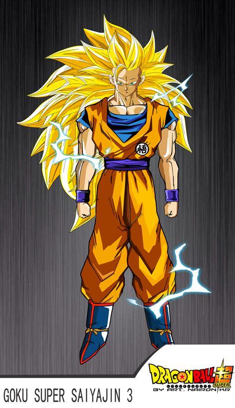 Goku Ssj3 Vs Bill Dragon Ball Super By Naironkr On Deviantart