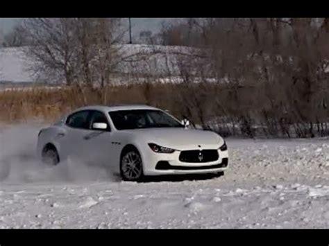 maserati snow 2014 maserati ghibli s q4 snow driving morrie 39 s luxury