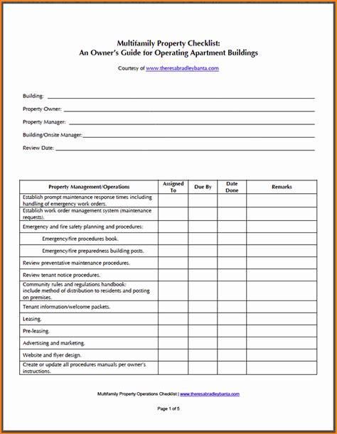 apartment maintenance forms preventative maintenance checklist for apartments