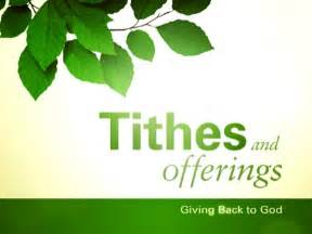 Tithes and Offering PowerPoint Template