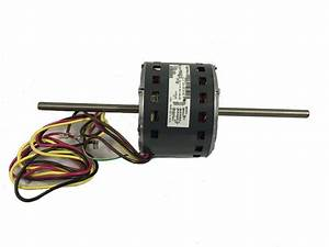 Double Shaft Fan  U0026 Blower Motor 1  6hp 1 385rpm   208