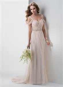 simple pale pink wedding world dresses bloguez - Pale Pink Bridesmaid Dresses