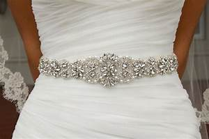 online get cheap bridal sash belt aliexpresscom With wedding dress sash