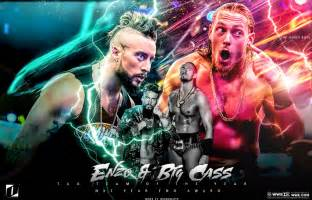 Enzo Amore WWE Big and Cass
