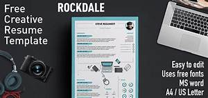 Free Creative Cv Template Download Word Rockdale Creative Resume Template