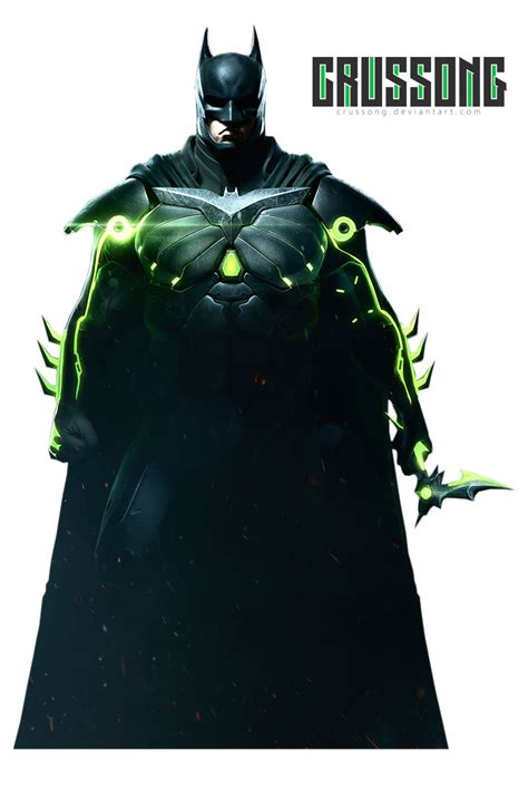 Injustice 2  Batman Render By Crussong On Deviantart